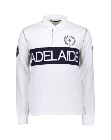 POLO ADELAIDE ML CLASSIC COLLAR (WHITE)