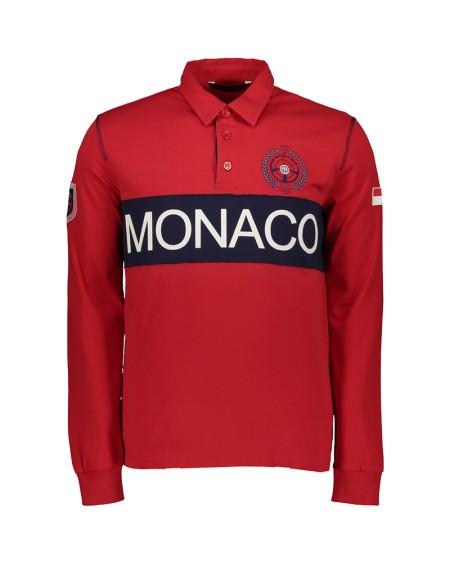 POLO MONACO ML COL CLASSIQUE