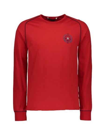 Tee shirt ALBI manche longue Jersey 60/2 - 100% coton (MARINE)