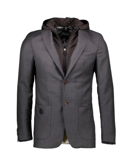 Veste à capuche SGD (gris)