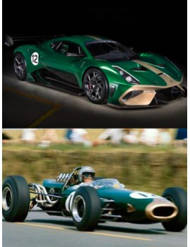 New Brabham BT62 inspired by the BT19!
