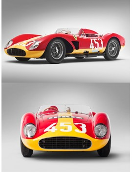 A legendary Ferrari: the 500 TRC by Scaglietti