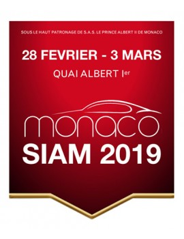 SGD partner of the SIAM 2019 in Monaco!